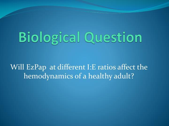 Biological question