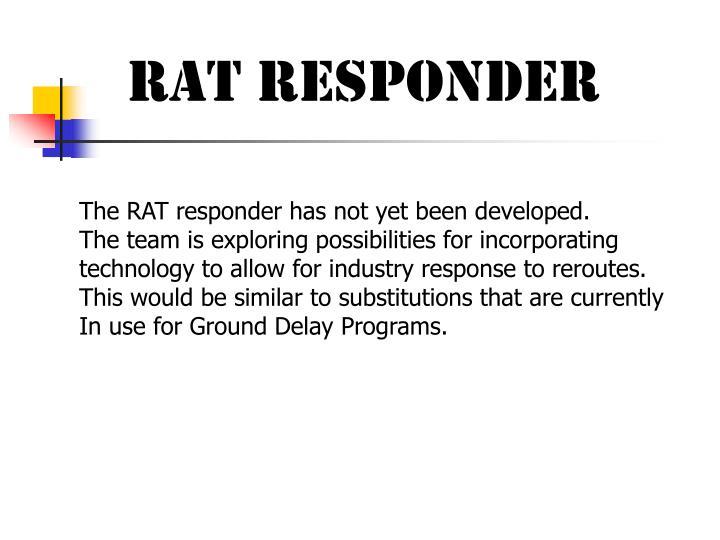 RAT RESPONDER