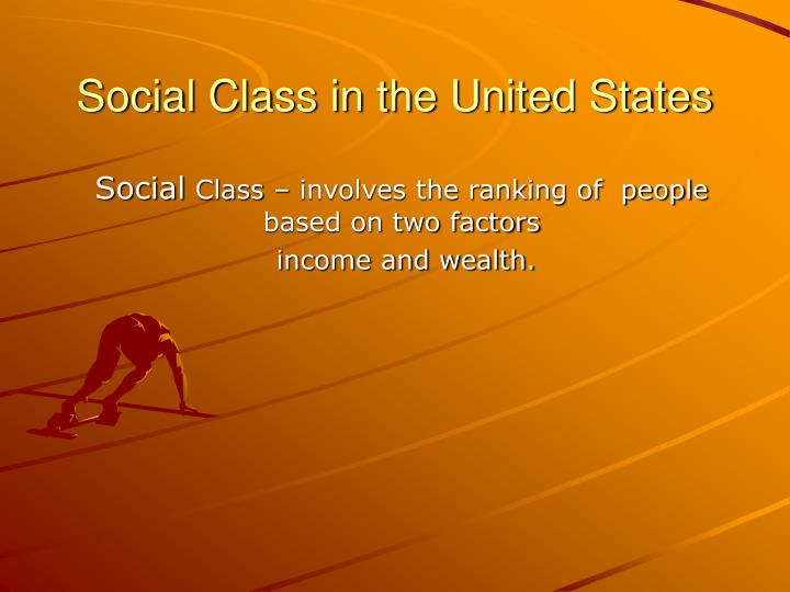 social class in the united states n.