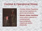 combat operational stress