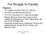 the struggle for equality1