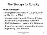 the struggle for equality2