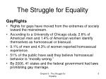 the struggle for equality4