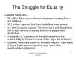 the struggle for equality5