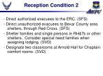 reception condition 2