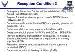 reception condition 3