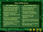 class differences1