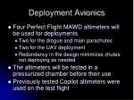 deployment avionics