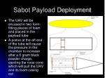 sabot payload deployment