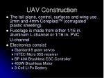 uav construction