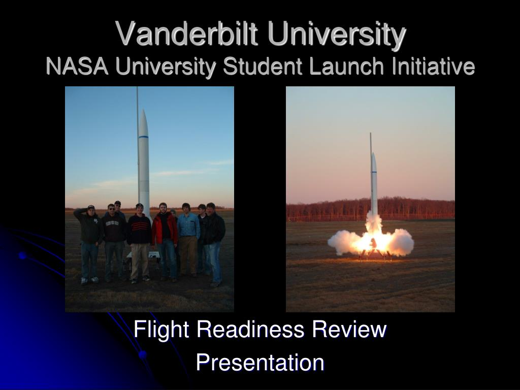 vanderbilt university nasa university student launch initiative l.
