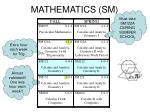 mathematics sm