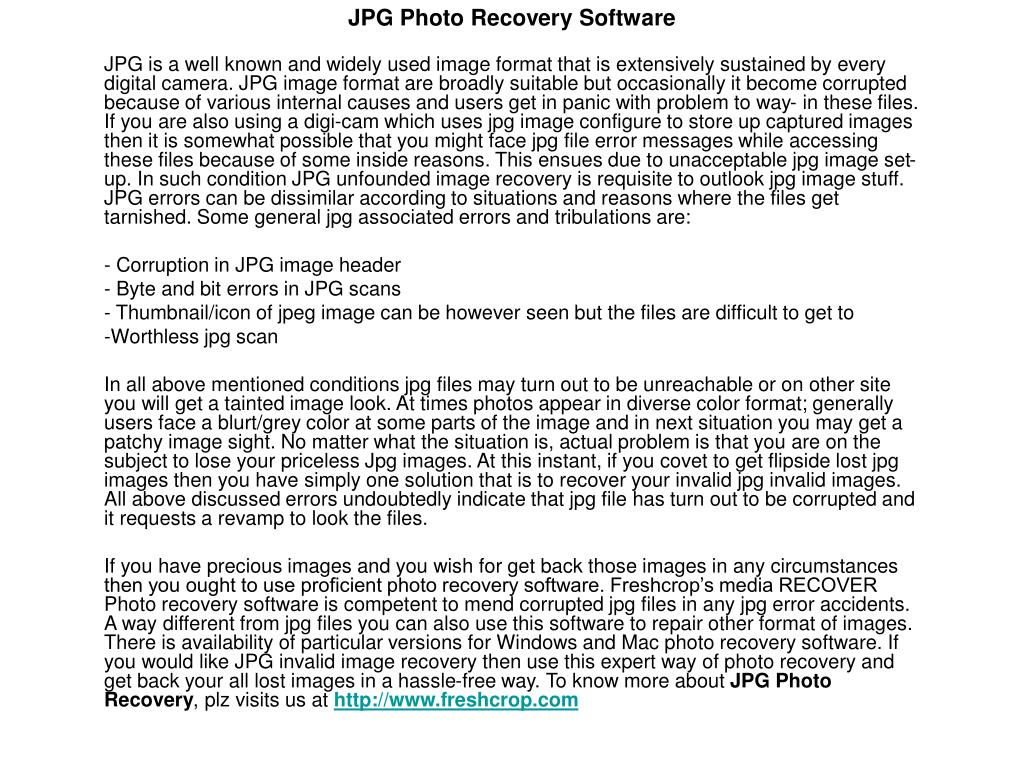 jpg photo recovery software l.