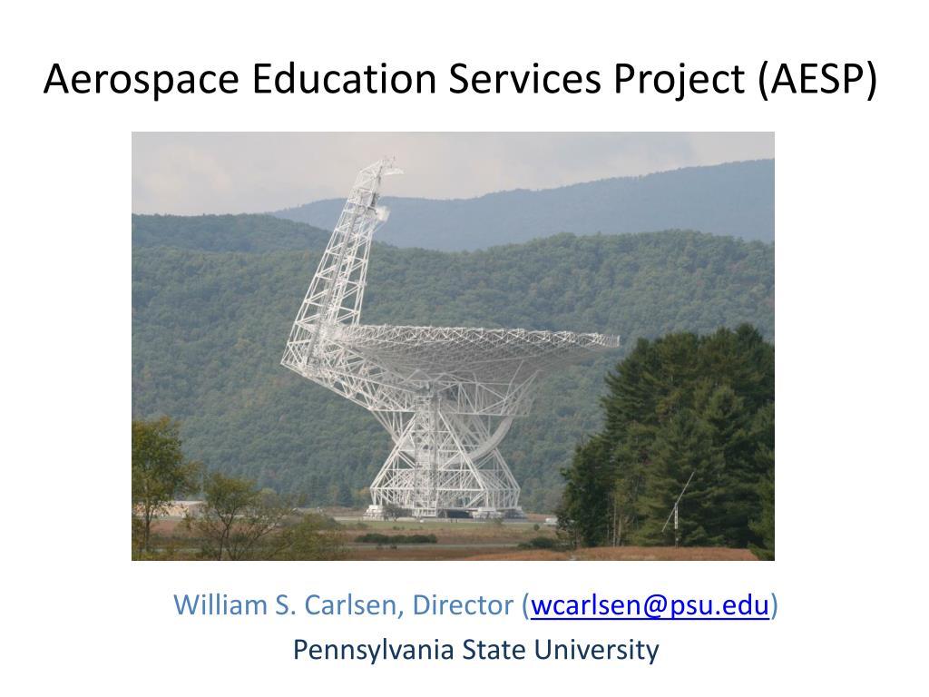 aerospace education services project aesp l.