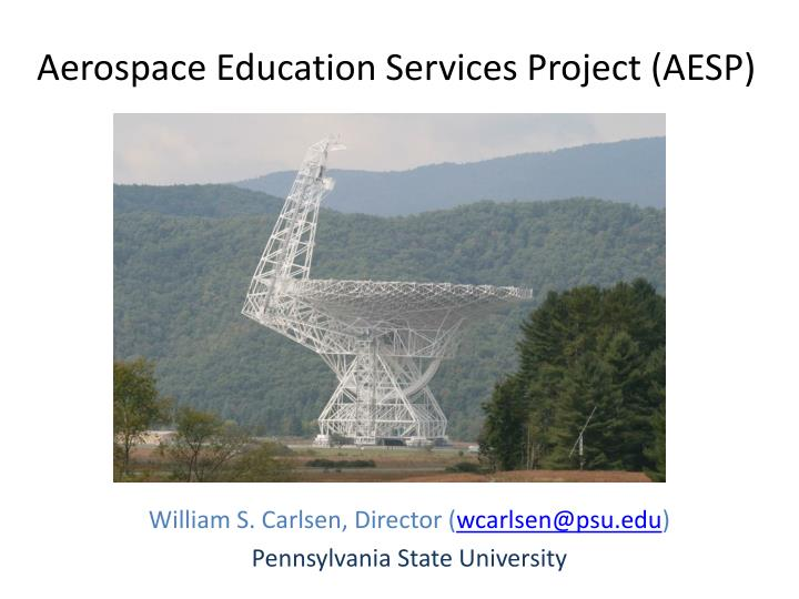 aerospace education services project aesp n.