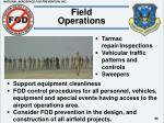 field operations55