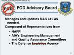 fod advisory board