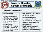 material handling parts protection38