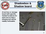 shadowbox shadow board