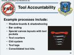 tool accountability