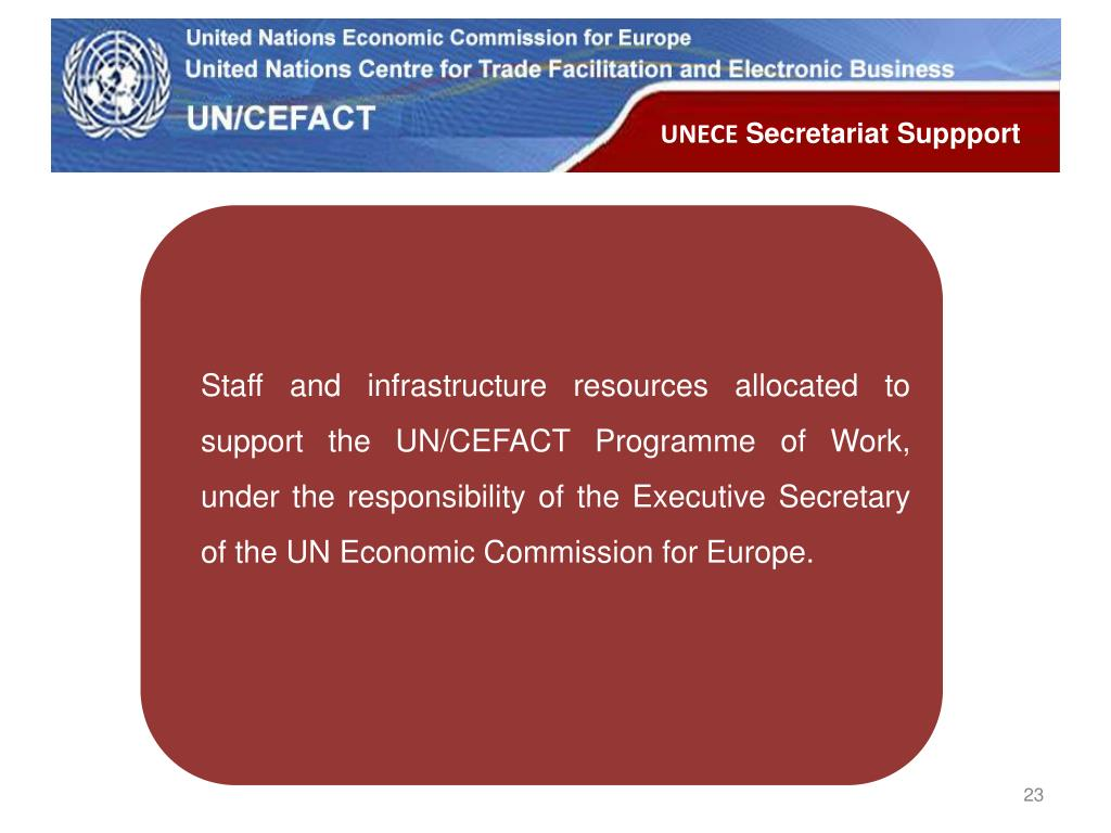Staff and infrastructure resources allocated to support the UN/