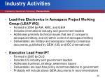 industry activities