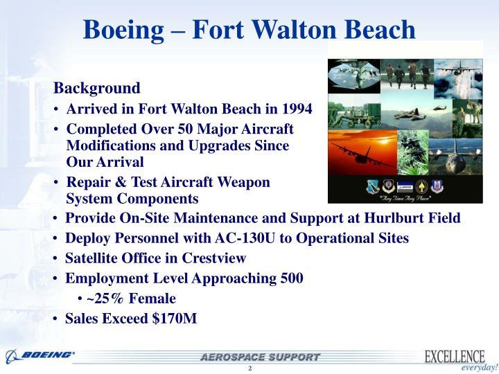 Boeing fort walton beach