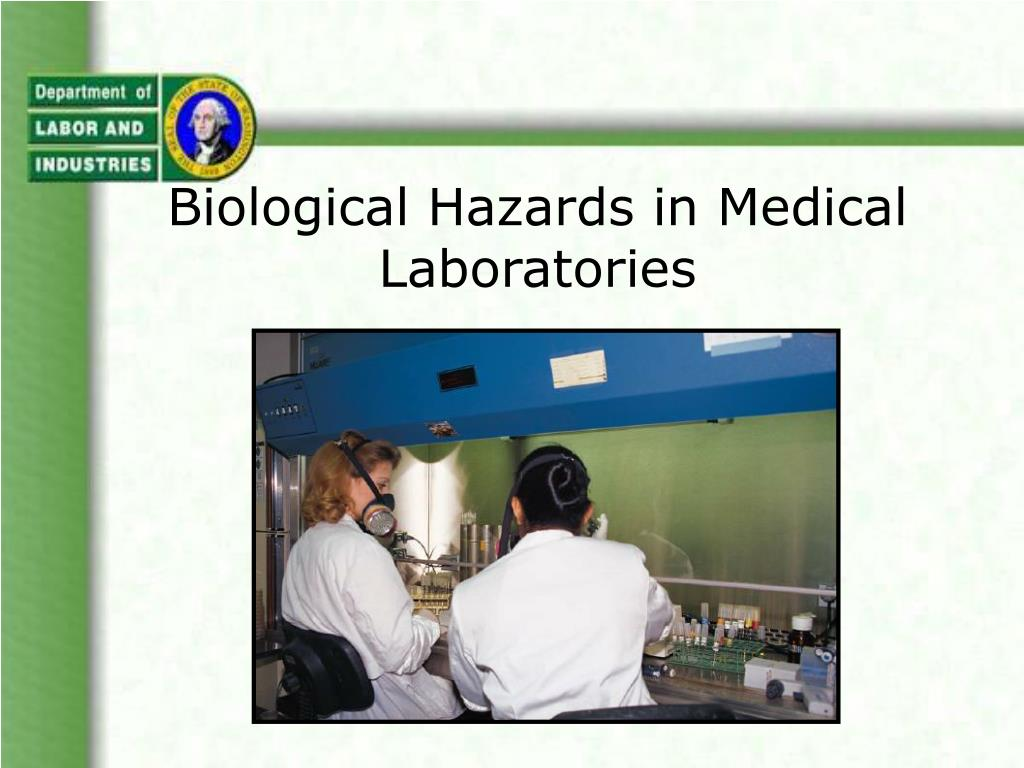 biological hazards in medical laboratories l.