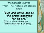 memorable quotes from the picture of dorian gray34