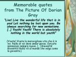 memorable quotes from the picture of dorian gray35