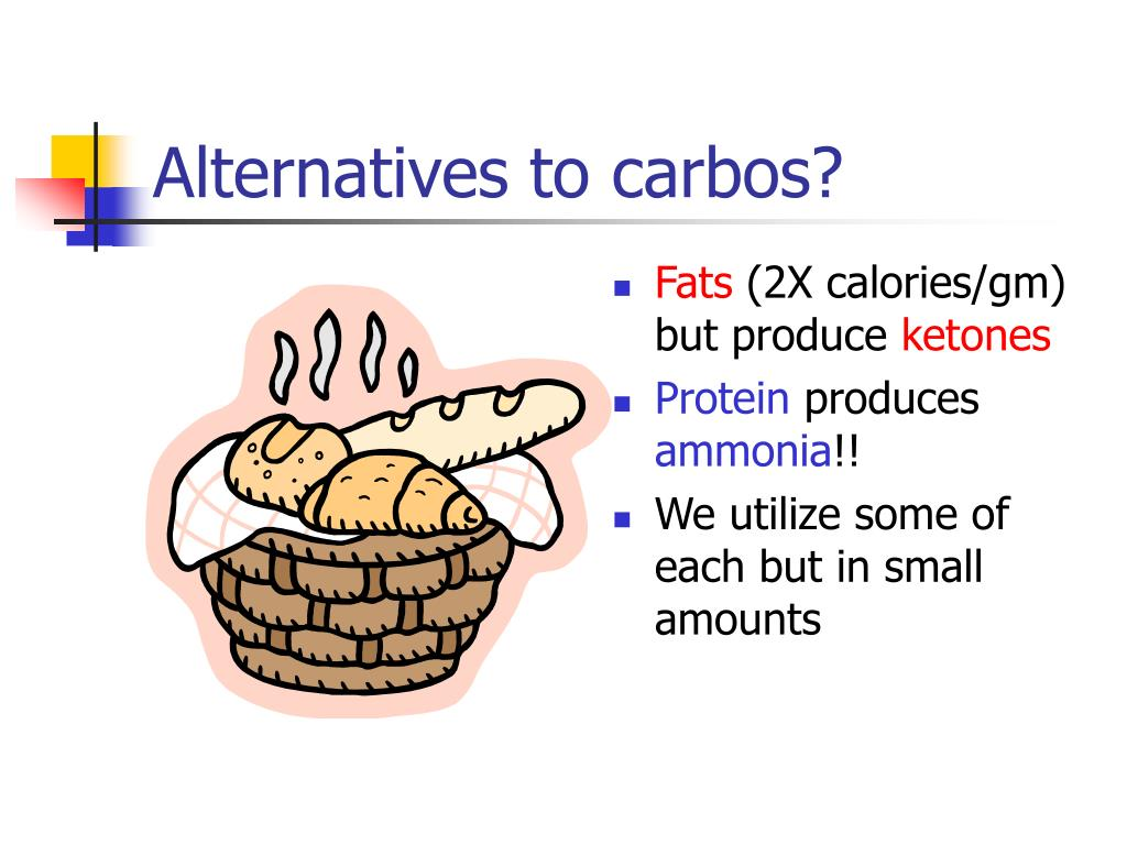 Alternatives to carbos?