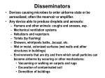 disseminators