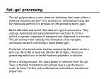 sol gel processing