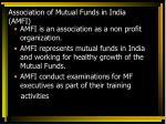 association of mutual funds in india amfi