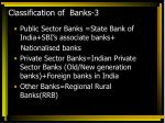 classification of banks 3