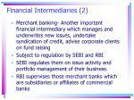 financial intermediaries 2