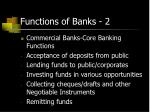 functions of banks 2