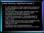 indian banking significant events 2