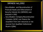 srfaesi act 2002