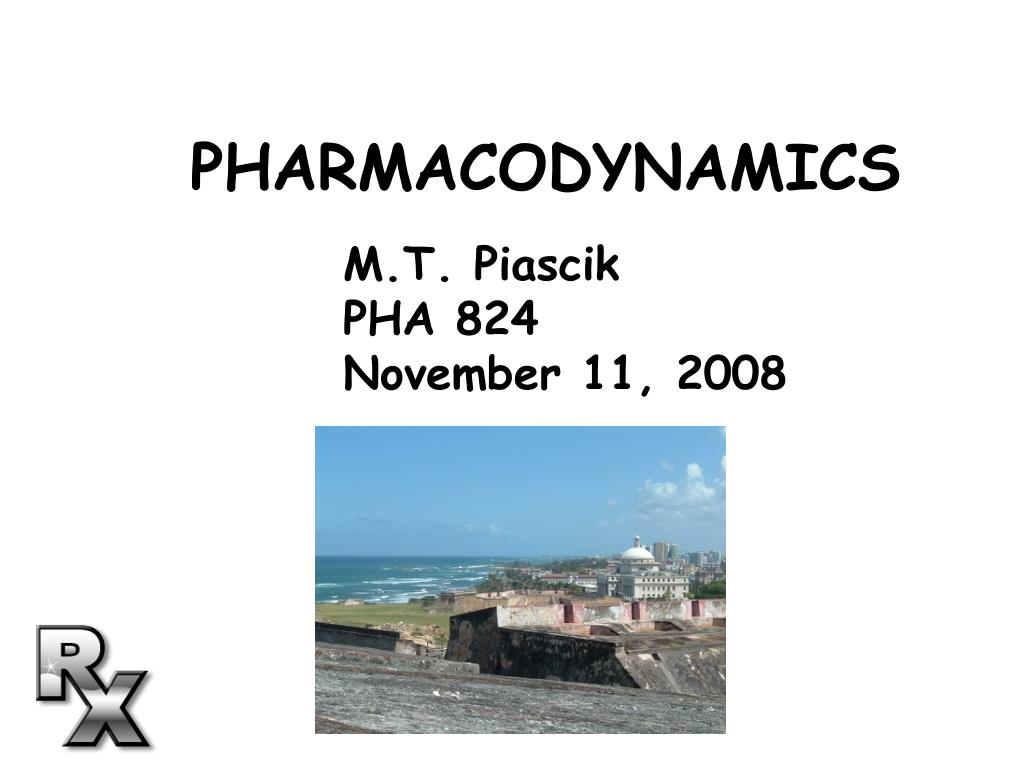 pharmacodynamics l.