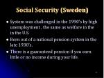 social security sweden
