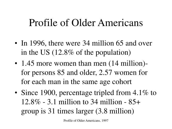 Profile of older americans