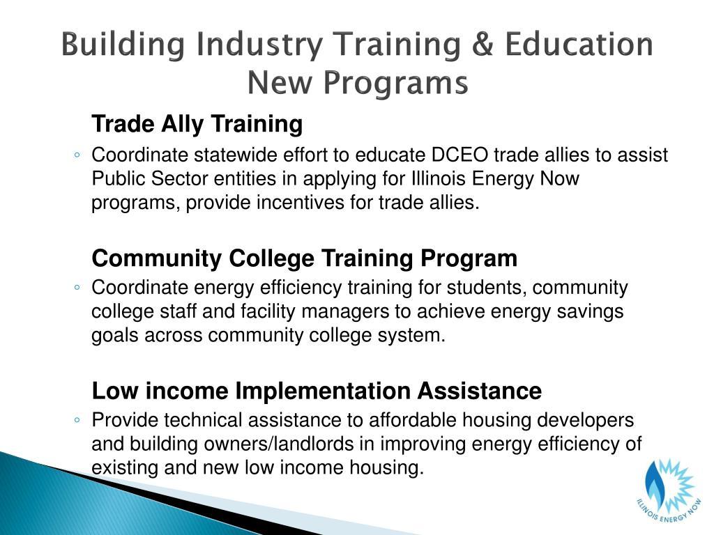 Building Industry Training & Education
