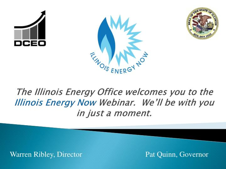 The Illinois Energy Office welcomes you to the
