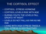 the cortisol effect