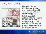 why strict liability