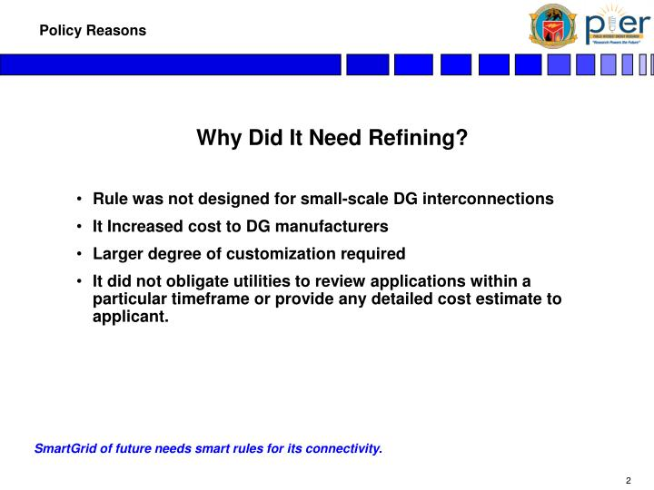 Policy reasons3