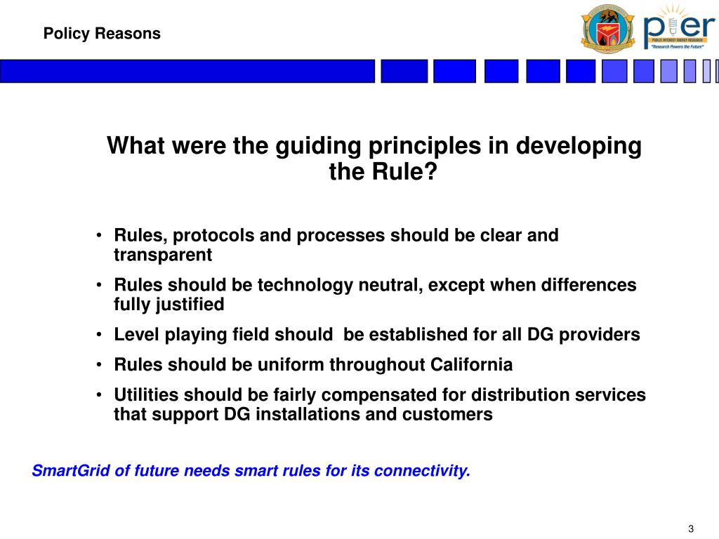 What were the guiding principles in developing the Rule?
