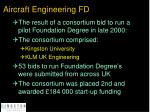 aircraft engineering fd