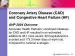 coronary artery disease cad and congestive heart failure hf56